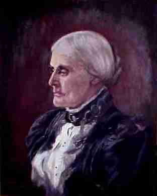 picture of Susan B Anthony